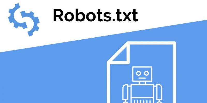 Robots txt file
