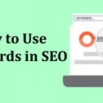 Use Keywords in SEO