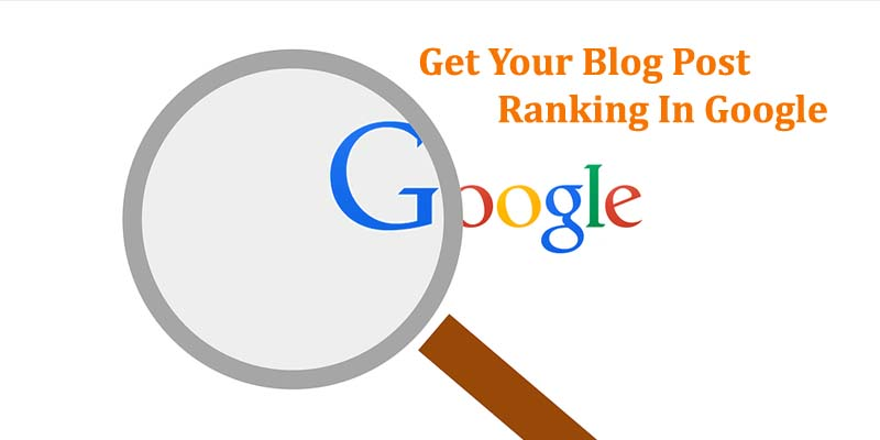 Blog Post Ranking In Google