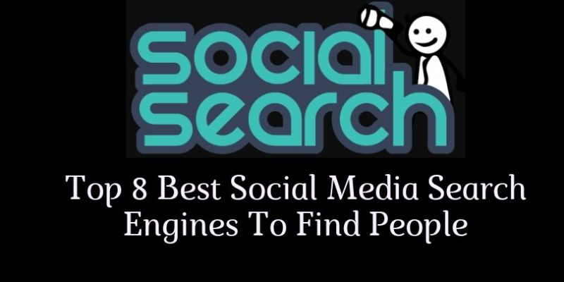 Social Media Search Engines