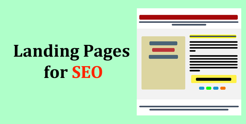 Landing Pages for SEO